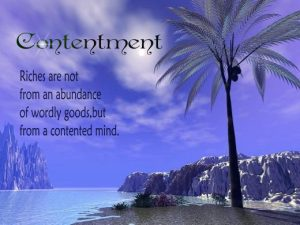 Contentment1